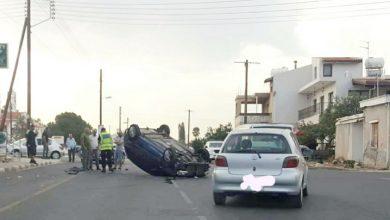 Photo of Ανατροπή οχήματος